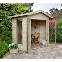 Honeybourne Corner Summerhouse 8x8