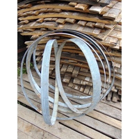 Wine Barrel Hoops - Galvanised Iron