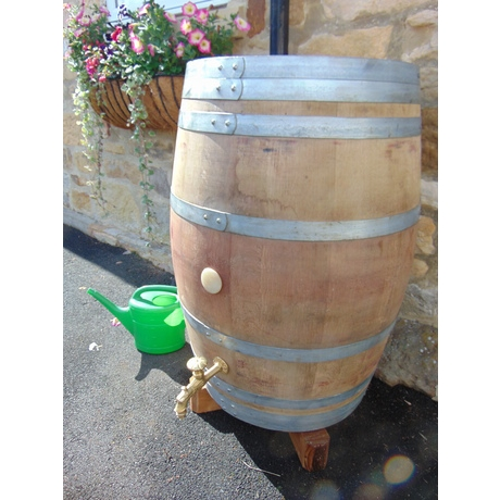French Wine Barrell Water Butt - 250L