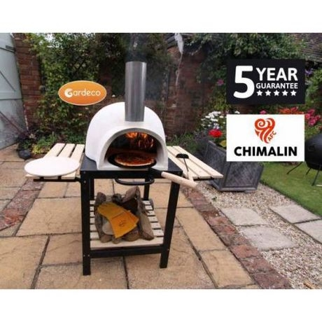 TraditionalWood Fire Pizzaro Chimalin Pizza Oven With Stand