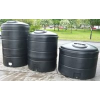 Large Water Storage Tanks  Above Ground - Black