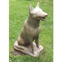 German Shepherd Dog Stone Statue