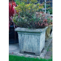 Grand Square Cotswold Stone Planter