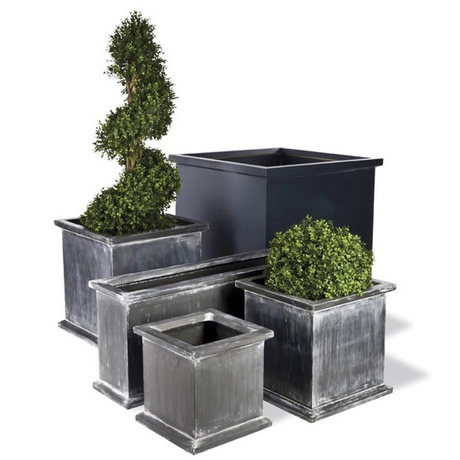Grosvenor Faux Lead Planters