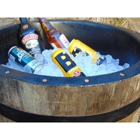Half Whisky Barrel Drinks Cooler - PVC Lined