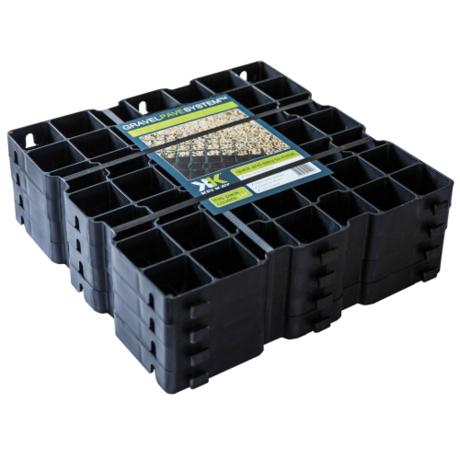 Barrel Garden Gravel Pave System 1msq Pack