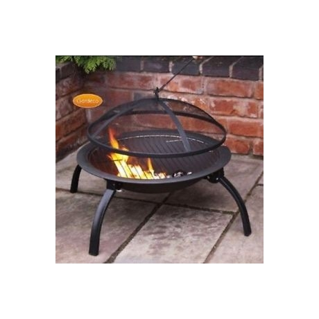 Lucio Folding Portable BBQ Fire Bowl