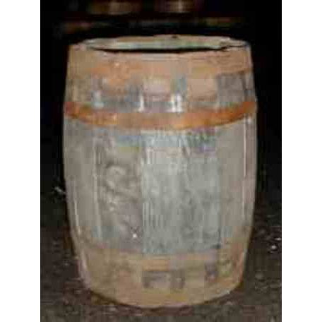 Kilderkin Barrel Planter - Natural Finish
