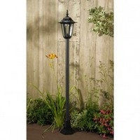Kingston Lamp Post Solar Light-1.3m Tall