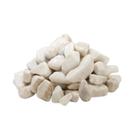 Coral White Pebbles