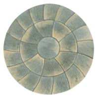 Abbey Twist Circle Paving Kit 2.4mtr Antique