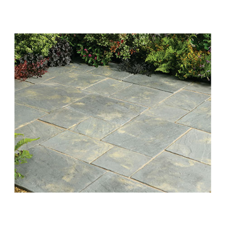 Abbey Paving Random Patio Kit 10.22 m - Antique
