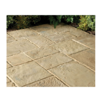Minster Paving Random Patio Kit 5.76 m Autumn Brown