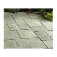 Minster Paving Random Patio Kit 5.76 m Rustic Sage