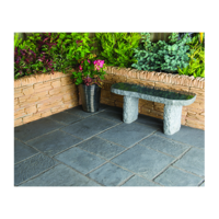 Minster Paving Random Patio Kit 5.76 m Graphite