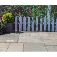 Natural Sandstone Patio Kit 15.3 m Lakefell