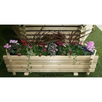 Norlog Large Trough Planter / Window Box