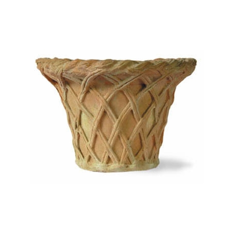 Lattice Basket Jardiniere