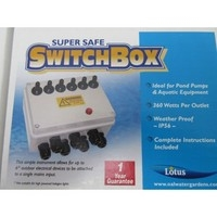 Lotus  6 Way Switch Box