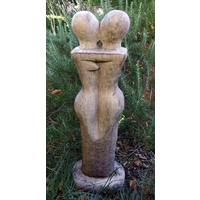 Lovers - Contemporary Stone Statue