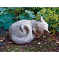 Cat Nap Stone Ornament