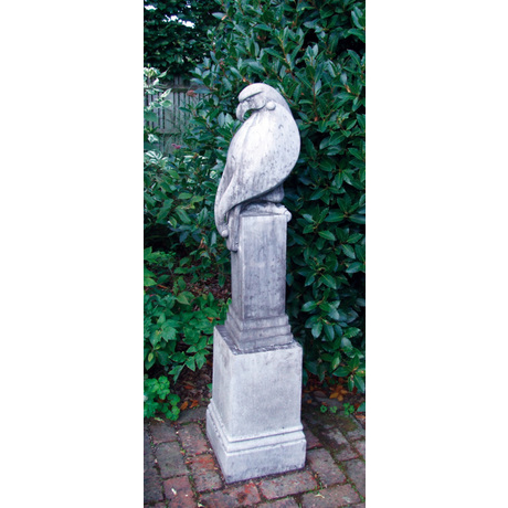 Eagle Stone Statue - Old Slate Finish