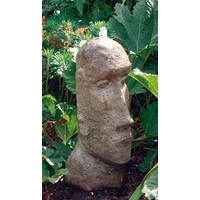 Easter Island Head Stone Fountain