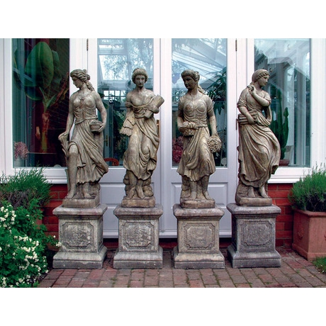 Four Maiden Seasons - Cotswold Stone Statues