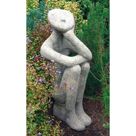 George - Contemporary Stone Statue