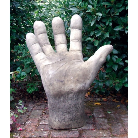Giant Right Hand Contemporary Cotswold Stone Sculpture