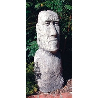 Large Moai Head - Stone Statue