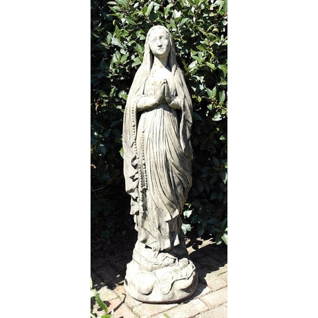 Medieval Madonna - Cotswold Stone Statue