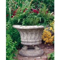 Large Plaited Vase - Cotswold Stone Planter