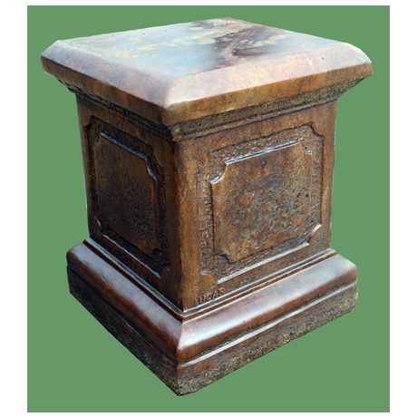 Roman Plinth - Burnt Umber