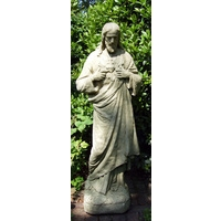 Sacred Heart - Cotswold Stone Statue