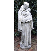 Saint Anthony - Cotswold Stone Statue
