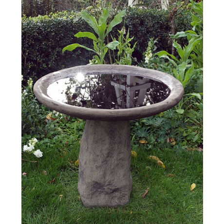 Staddle Bird Bath - Cotswold Stone