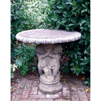 Three Cherub Cotswold Stone Table