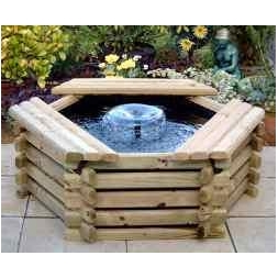 Log-sided Ponds & Pools