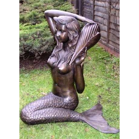 Bronze Mermaid Water Feature