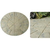 Minster Circle Paving Kit 1.8mtr Rustic Sage