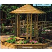Japanese Gazebo Planter