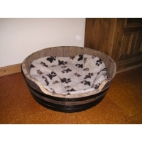 Barrel Dog Bed - Large