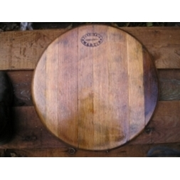 "21"" French wine barrel head"
