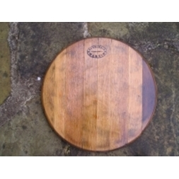 "24"" French wine barrel head"