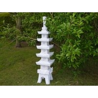 Pagoda With Latex Windows Japanese Lantern - 120cm