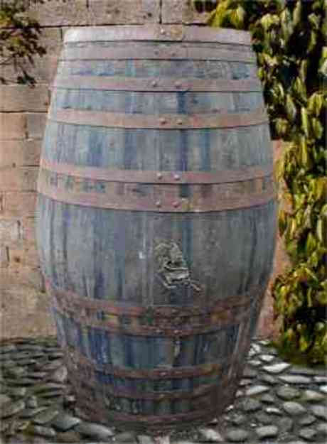 Port Pipe Barrel - 110 Gallon