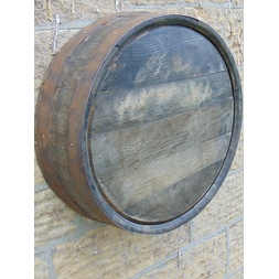 Rustic Barrel Ends