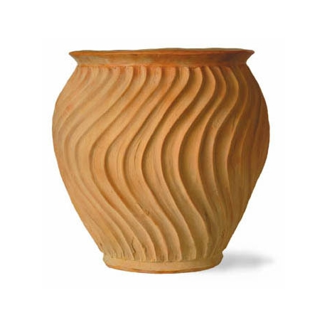 Shimmer Pot - Terracotta Finish