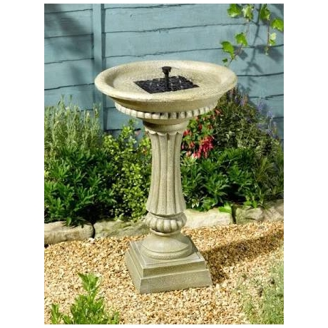 Winchester Birdbath / Solar Water feature